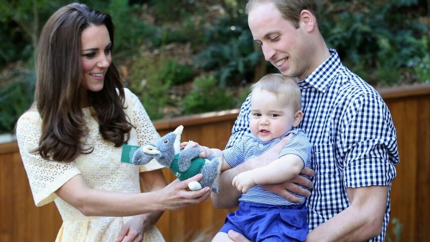 Kate Middleton : avec son petit George, elle rend hommage à Lady Diana
