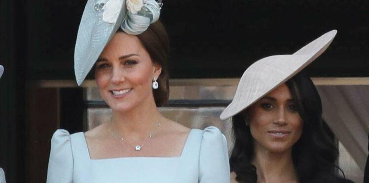 Kate Middleton et Meghan Markle, pour la toute première fois ensemble, sans leurs maris
