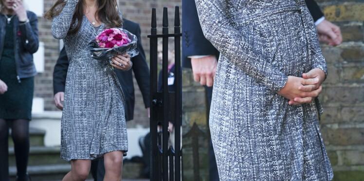 Kate Middleton : les premières photos officielles du ventre rond