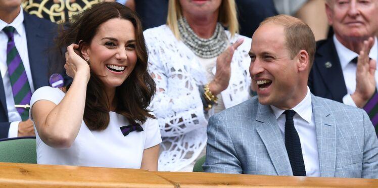 Kate Middleton et le prince William : complicité et éclats de rire, le couple fait plaisir à voir à Wimbledon