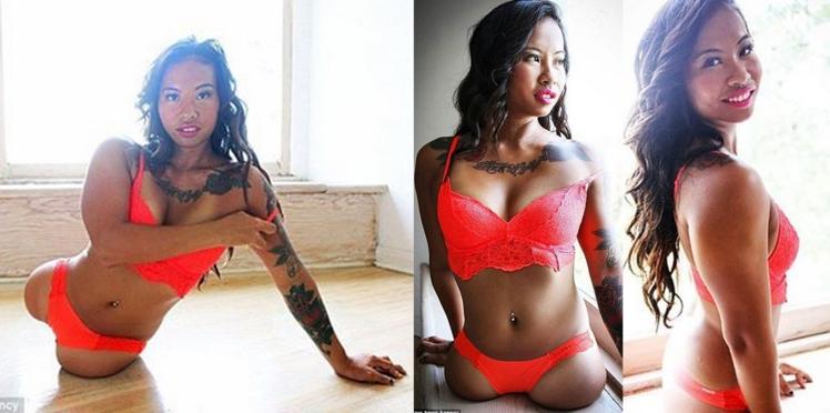 Cette jeune femme née sans jambes devient mannequin lingerie