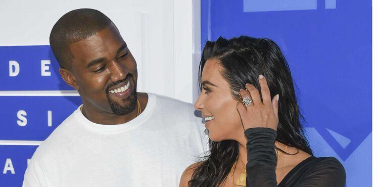 Kim Kardashian et Kanye West, bientôt parents d'une petite fille