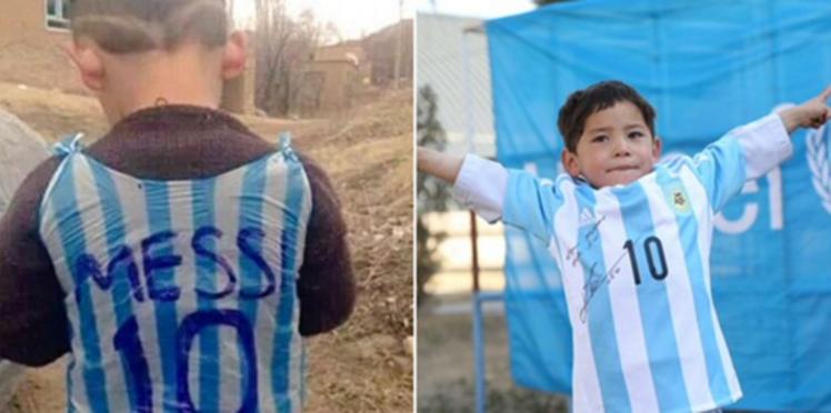 Menacé, le petit fan de Lionel Messi a dû fuir son pays