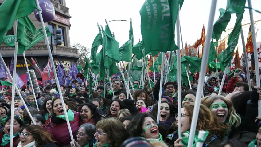 L'Argentine vote pour le droit à l'avortement