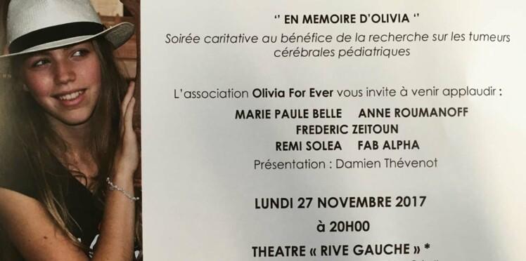 """Soutenons l'association """"Olivia For ever"""" et la recherche sur les tumeurs cérébrales pédiatriques"""