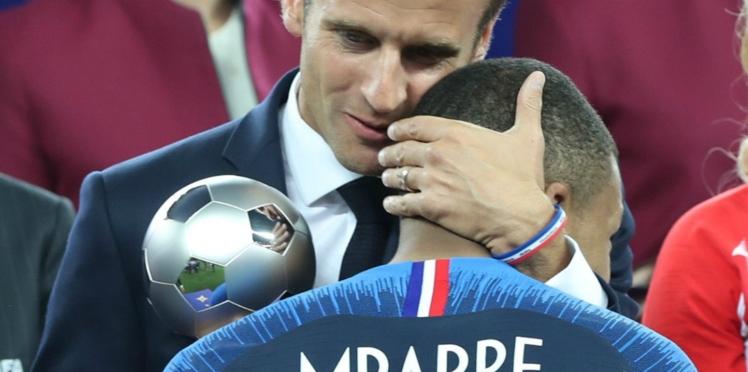 La requête étonnante (et culottée) d'Emmanuel Macron à Kylian Mbappé