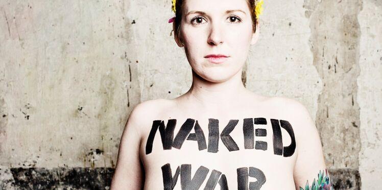 La chef de file des Femen obtient le statut de réfugiée, en France