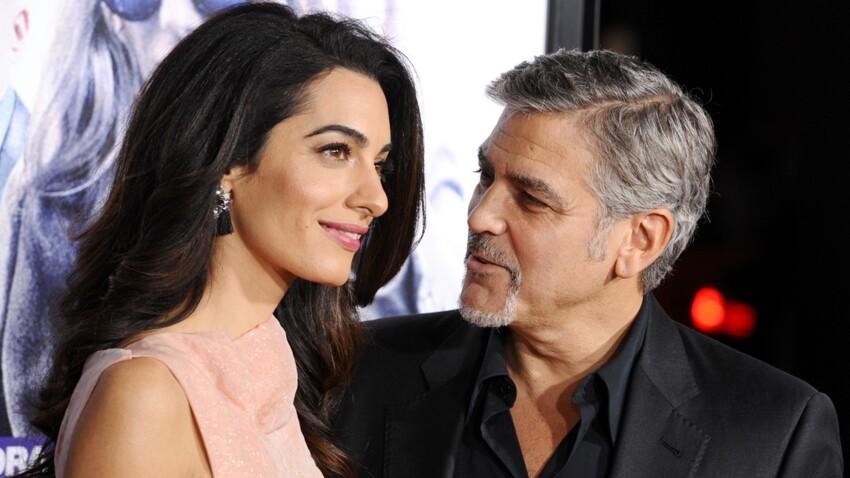 Amal et George Clooney : l'arrivée de leurs jumeaux serait imminente