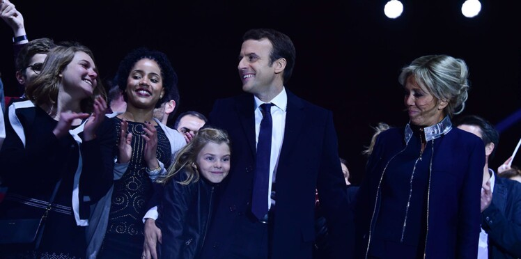 PHOTOS - Emmanuel Macron : découvrez Emma, sa petite-fille, star de son discours au Louvre