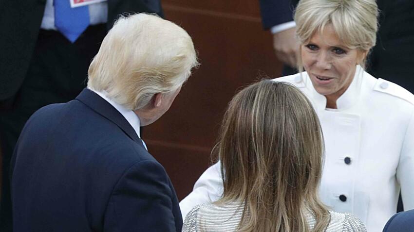 """Contrairement à Brigitte Macron, Melania Trump """"n'a pas besoin qu'on lui prête de vêtements"""""""