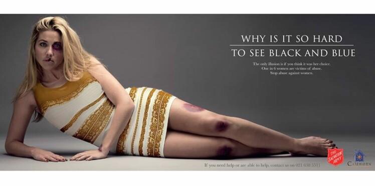 La robe infernale au cœur d'une campagne contre les violences conjugales