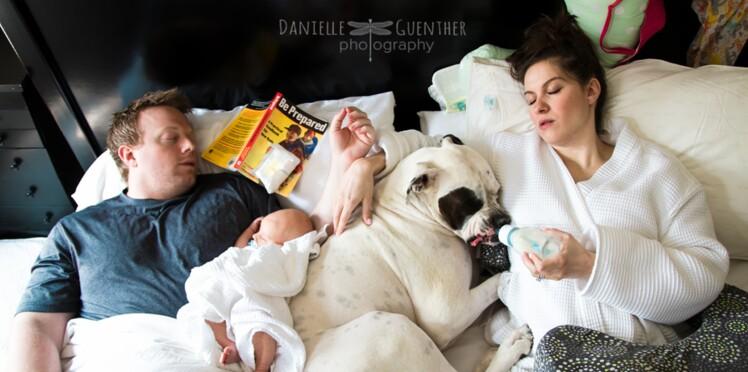 On adore : une série de photos sur la vraie vie des parents