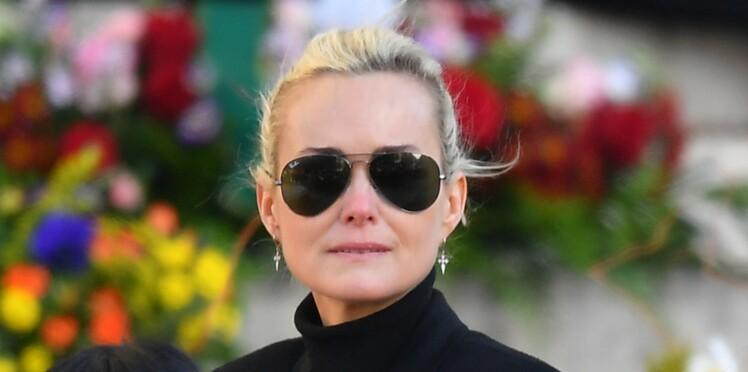Laeticia Hallyday dévastée lors de son retour à Los Angeles