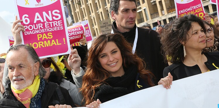 Photos - Laetitia Milot à Marseille, l'actrice s'engage pour la lutte contre l'endométriose