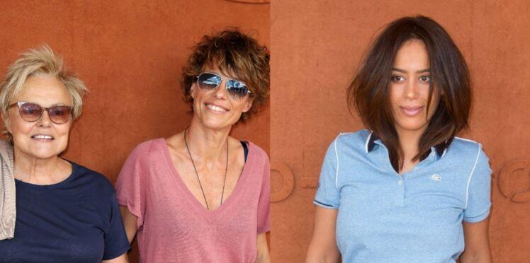 Photos - Laurence Ferrari, Muriel Robin, Amel Bent… Toutes en couple à Roland-Garros