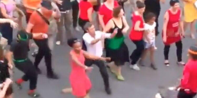 Vidéo - David Pujadas danse comme un fou lors de la fête de la musique