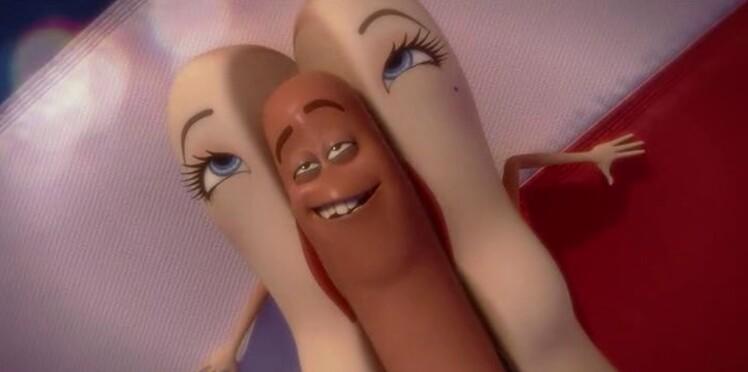 """Le film d'animation """"Sausage Party"""" crée la polémique"""