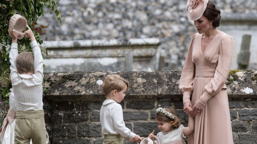 Photos : le prince George boude après s'être fait gronder par Kate Middleton