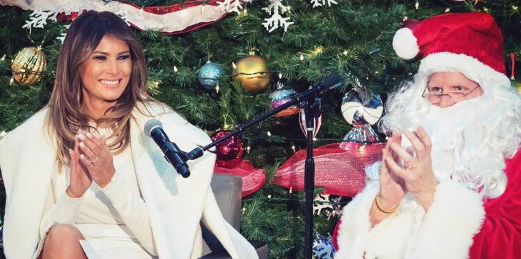 Le Selfie de Noël de Melania Trump choque les internautes