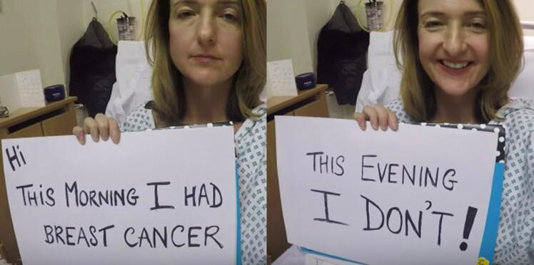 Journal vidéo d'une présentatrice de la BBC atteinte du cancer du sein