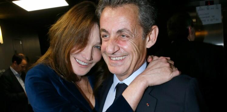 Le tendre message de Nicolas Sarkozy à sa femme Carla Bruni