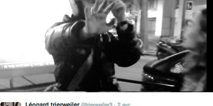 Léonard Trierweiler piège un paparazzi