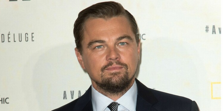 Leonardo DiCaprio à Paris pour une cause qui lui tient à coeur