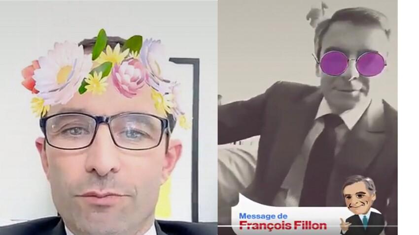 Vidéo : quand les candidats à la présidentielle se lâchent sur Snapchat