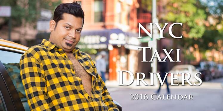 Photos : le calendrier sexy (ou pas) des chauffeurs de taxis new-yorkais