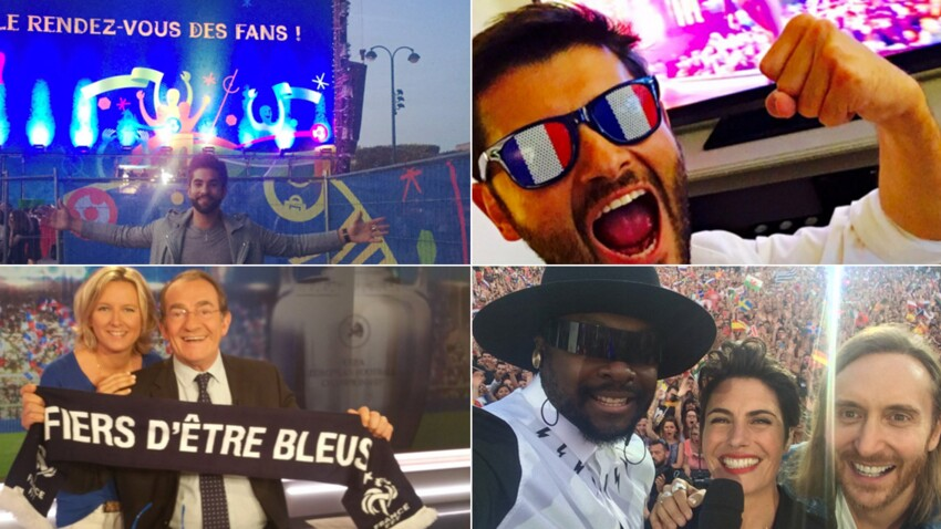 Euro 2016 : les stars supportent les Bleus