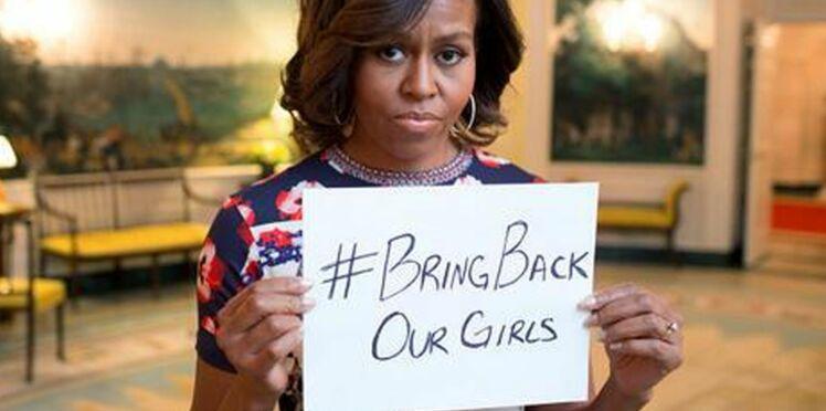 Les célébrités posent pour soutenir les lycéennes kidnappées