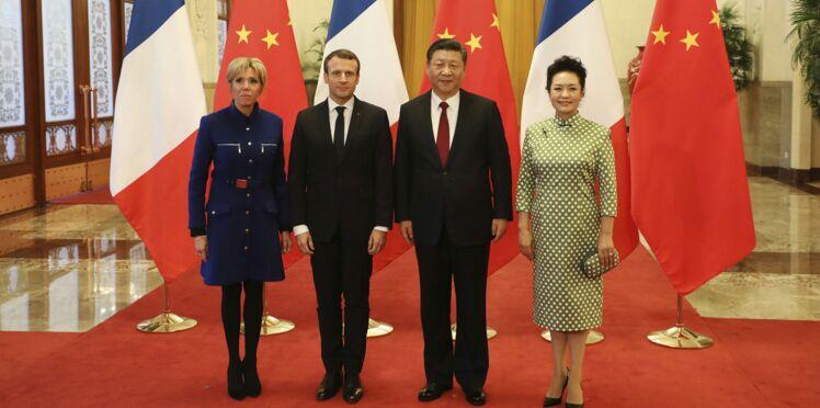 Photos - Emmanuel Macron en Chine : découvrez l'étonnant cadeau offert par la France au président Xi Jinping