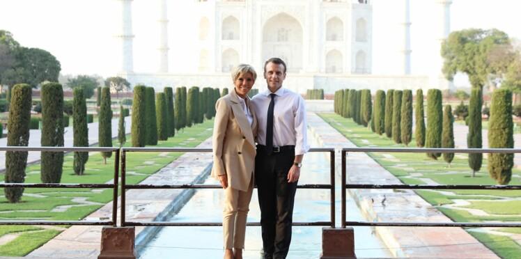 Emmanuel Macron clashe une journaliste après une question sur sa visite privée au Taj Mahal