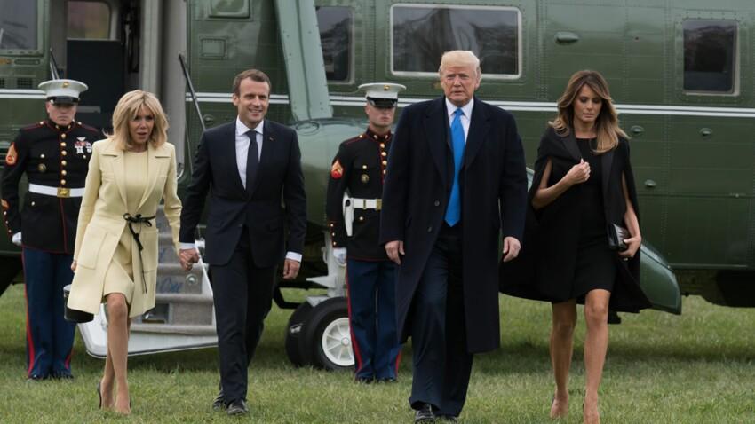 Pour les Macron, les Trump mettent les petits plats dans les grands