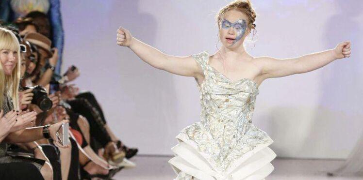 Madeline Stuart : le jeune mannequin atteint de trisomie 21 défile à la Fashion Week de New York !