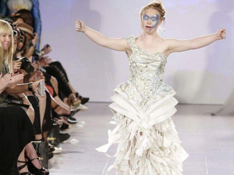 Madeline stuart le jeune mannequin atteint de trisomie 21 d file la fashion week de new york - Madeline prenom ...