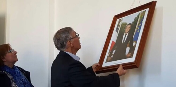 En colère, des maires de la Creuse retournent le portrait d'Emmanuel Macron