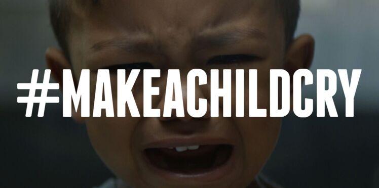 #MakeAChildCry : une campagne virale pour l'accès aux soins