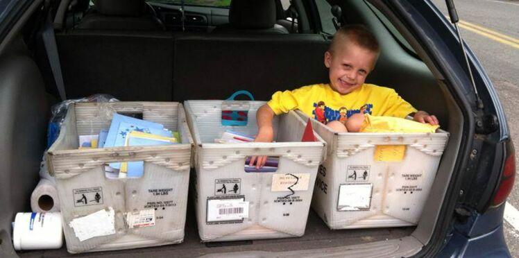 Un petit garçon atteint d'une tumeur reçoit 30.000 cartes de voeux pour ses 6 ans