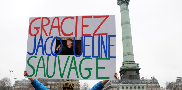 Manifestation pour Jacqueline Sauvage: célèbres ou anonymes la soutiennent