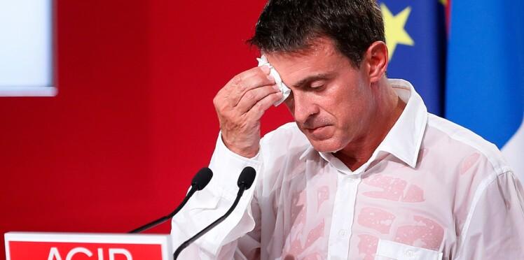 Manuel Valls : le Premier Ministre mouille la chemise et agite la toile
