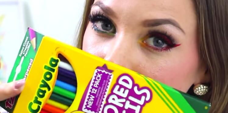 Tuto « maquillage Crayola » : la marque met en garde !