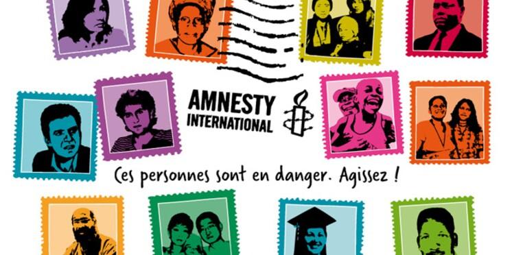 Amnesty International : des signatures pour briser le silence