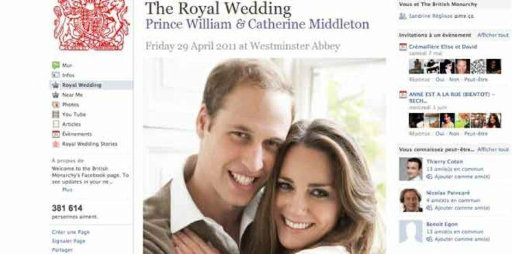 Regardez le mariage de Kate et William en live