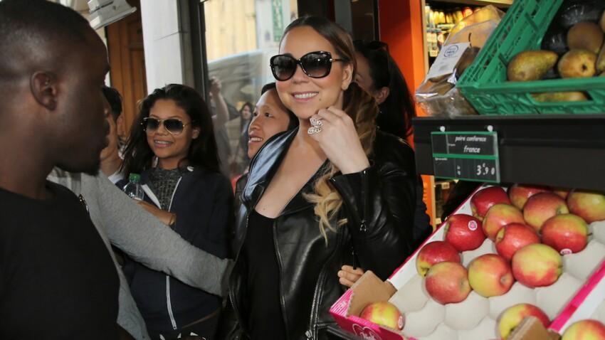 Mariah Carey fait (aussi) ses courses chez Carrefour !