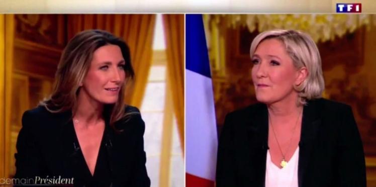 Découvrez le caprice ahurissant de Marine Le Pen pour son interview à TF1