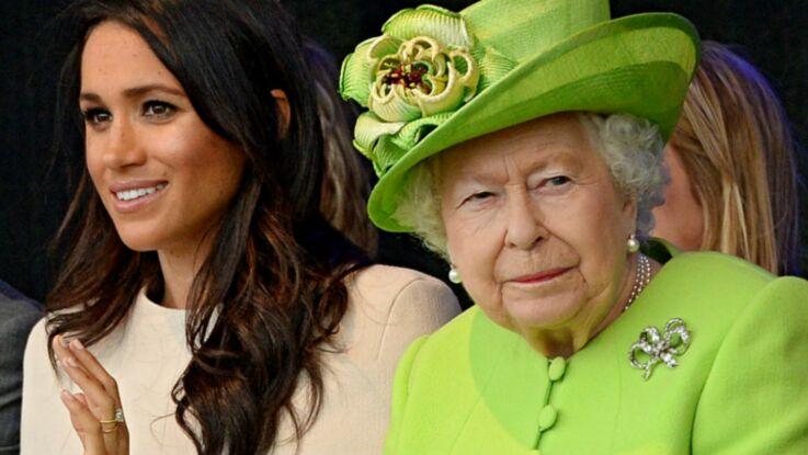 Photos - Meghan Markle : son langage corporel lors de sa première sortie avec la reine Elizabeth II décrypté