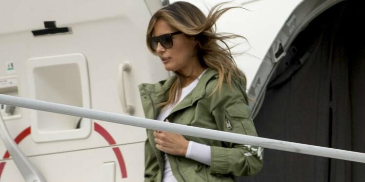 Melania Trump : pourquoi le choix de sa veste à message est tout sauf anodin