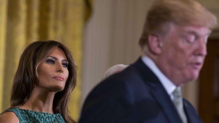 """Melania Trump, """"très malheureuse"""" : """"Si elle pouvait, elle partirait"""""""
