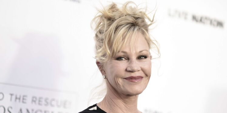 Photos - Melanie Griffith assume son (visible) cancer de la peau